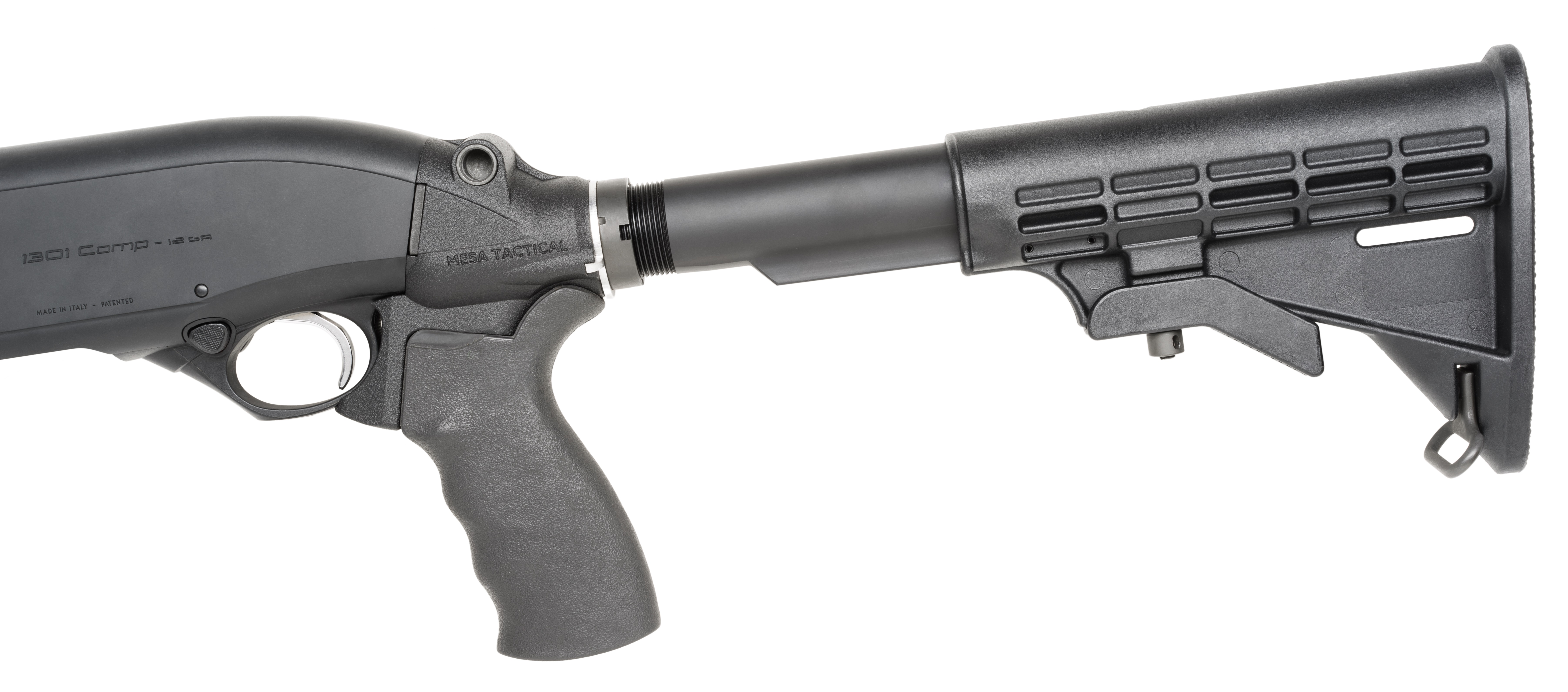 Now Shipping the LEO® Telescoping Stock system for the Beretta 1301 semi-automatic shotgun.