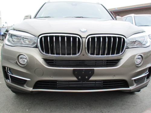 Sto N Sho Removable Front License Plate For Bmw