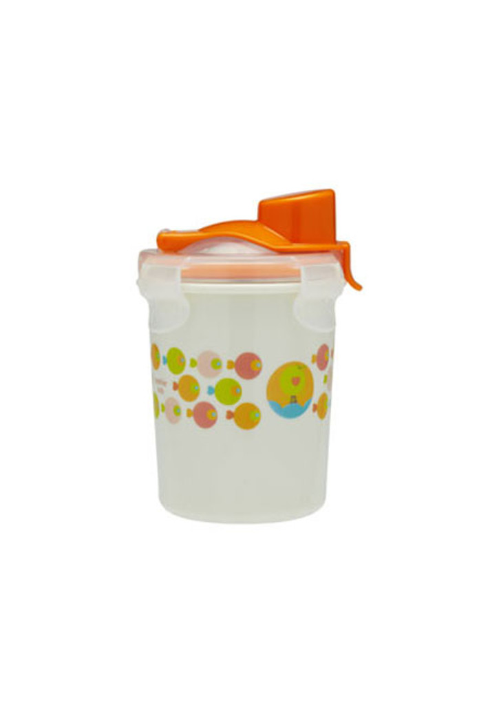 Keepin' SMART Double Insulated Stainless Cup - Orange / Fish / 8 oz