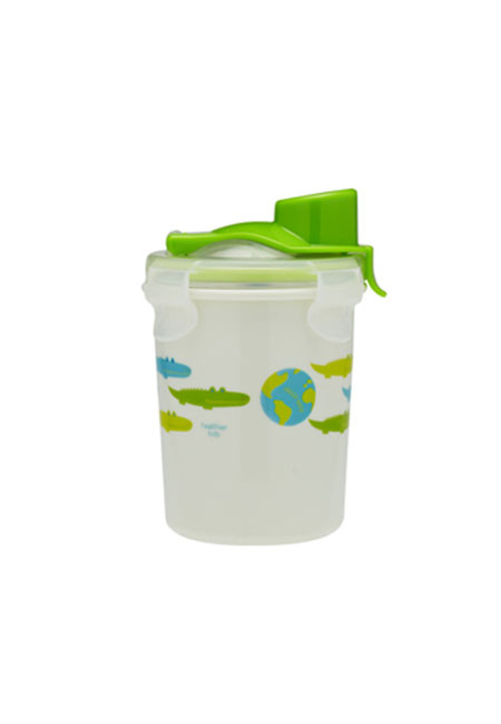 Keepin' SMART Double Insulated Stainless Cup - Green / Alligator / 8 oz