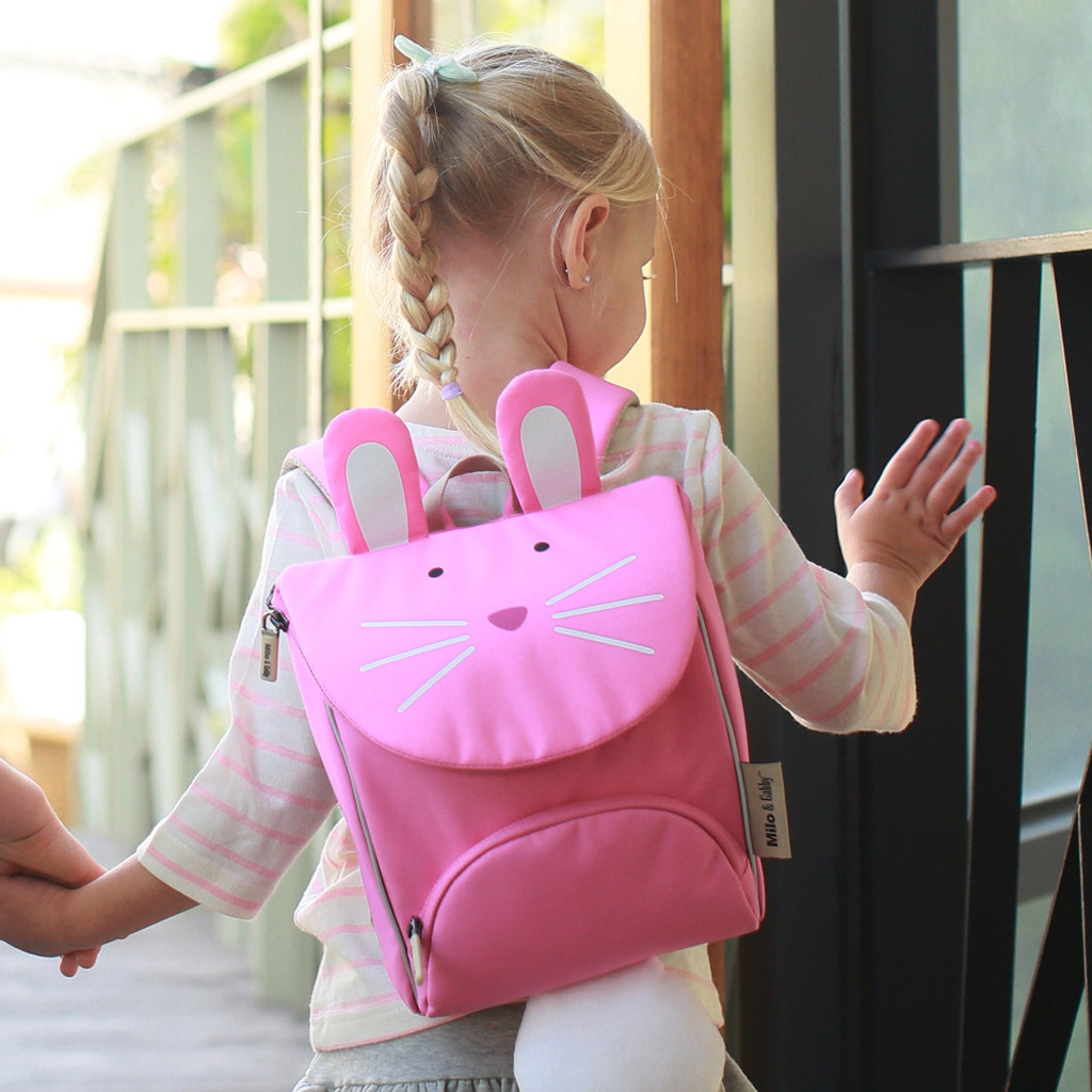 Animal Shaped Backpack with Safety Strap - Lola Bunny