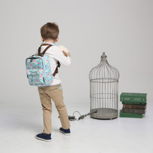 Kinderspel All-in-One Toddler Backpack with safety strap (Polyester)