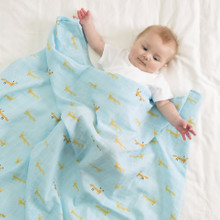 Versatile Muslin Cuddle Blanket (Various Patterns)