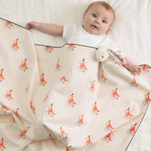 Little Fennec Cozy Flannel Cuddle Blanket