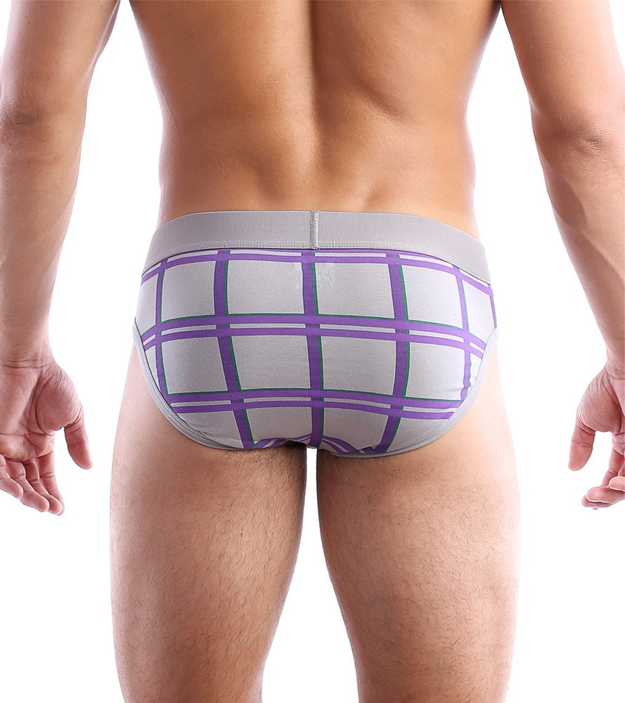 Wood Junction Plaid - Brief