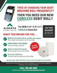 Get your Coreless Debit Rolls before the Christmas Rush !!!