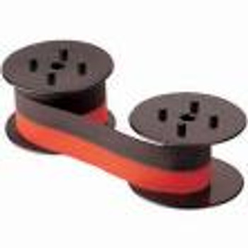 Universal Calculator Spools Black/Red, 12/Per Case
