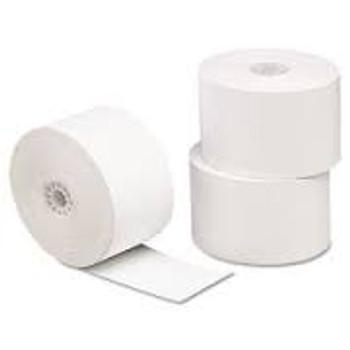"1 3/4"" (44MM) x 150' (Grade A) 1 Ply Paper Rolls"