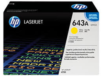 HP Q5952A Yellow OEM Toner For Use With HP Laserjet 4700