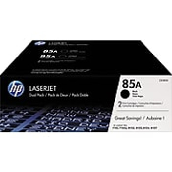 HP 85A (CE285D) Black Original LaserJet Toner Cartridges, 2/Pack (CE285AD)