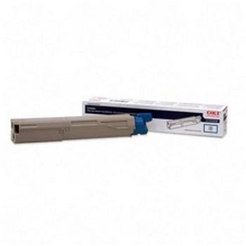 Okidata C3400 High Yield Cyan Compatible Toner