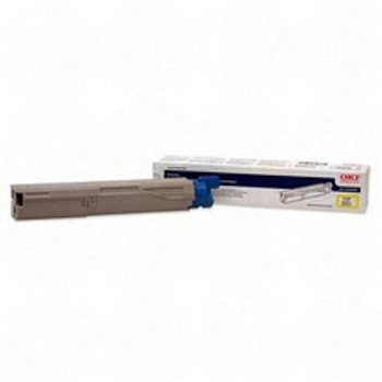 Okidata C3400 High Yield Yellow Compatible Toner