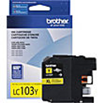 Brother LC101/LC103 Yellow High Capacity Compatible Inkjet Cartridge