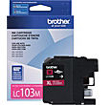Brother LC101/LC103 Magenta High Capacity Compatible Inkjet Cartridge