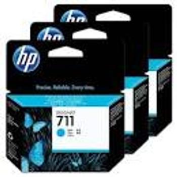 HP #711 CYAN 3 PACK