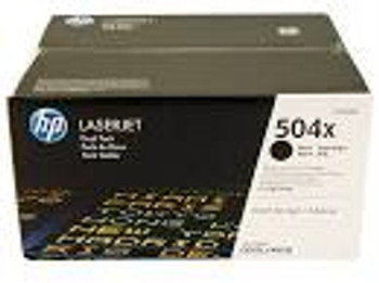 HP 504X DUAL PACK HY BLACK TONER CP3525/CM3530 MFP