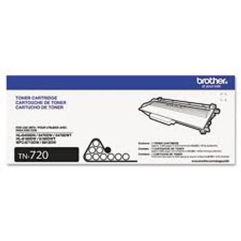 Brother TN-720 Compatible  Black Toner Cartridge