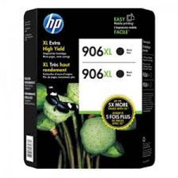 HP 906XL Black Original Ink Cartridge Twin Pack , ( T0A42BN)