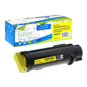 Xerox Yellow Extra High Capacity Compatible Toner Cartridge, WorkCentre 6515, Phaser 6510, (4,300 Pages)