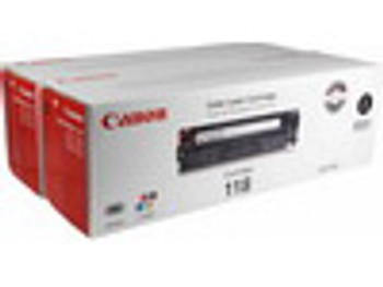 Canon® 118 Black Toner Cartridge, Twin Pack (2662B004) (2662B004 )