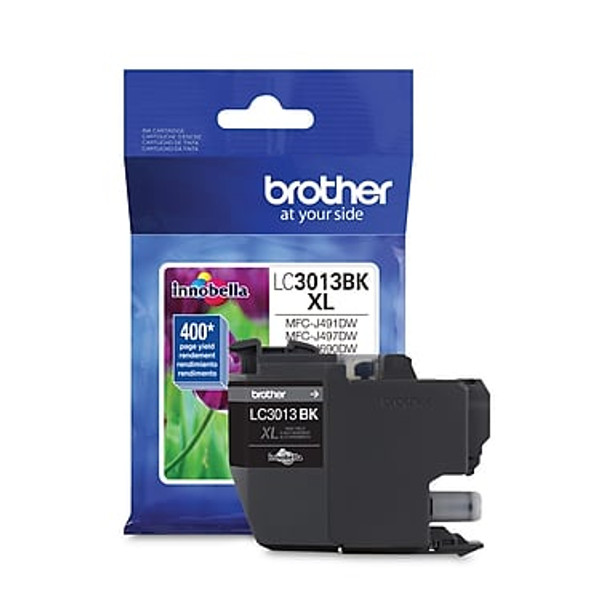 Brother LC3013BKS Black Ink Cartridge, High Yield (LC3013BKS)