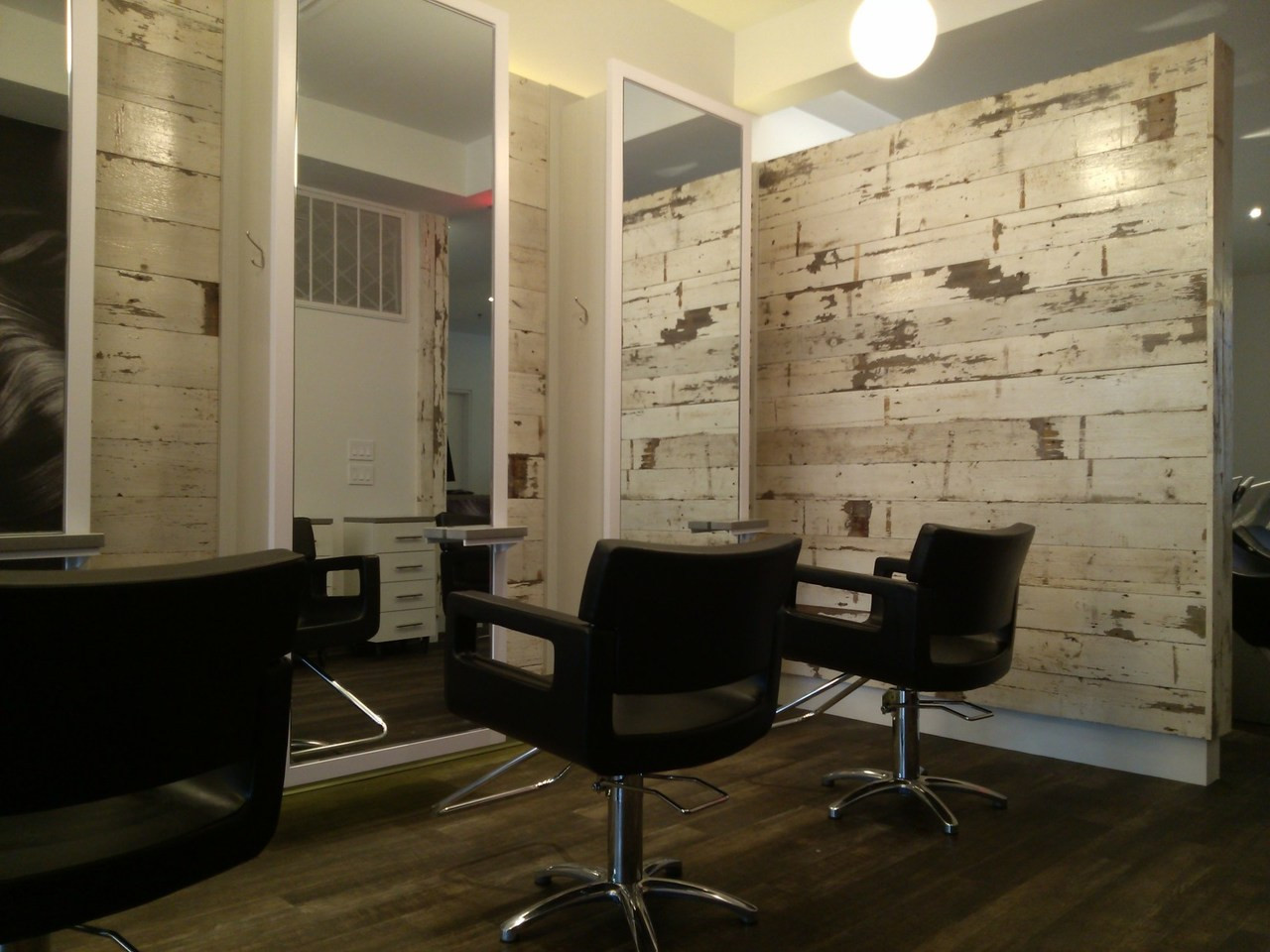 Hairdressing Salon Design and Fit - DRIFTWOOD INTERIORS