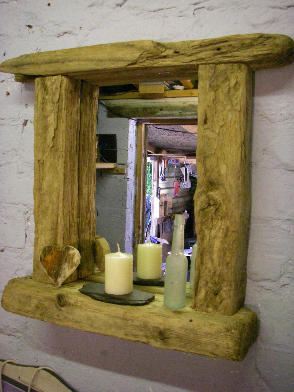 Quot Ocean Quot Driftwood Mirror Driftwood Interiors