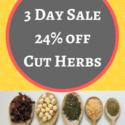 3 Day Deal - 24% off Cut Herbs With Coupon!
