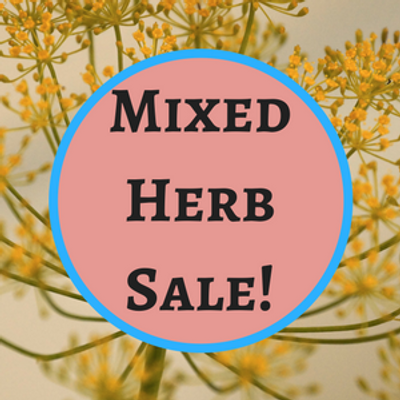 Medley of Herbs on Sale!
