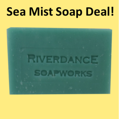 With a purchase of at least $50 you can select to receive a free bar of natural soap!