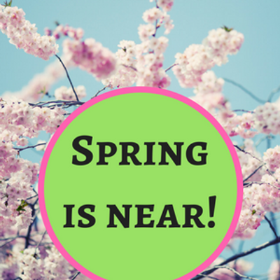 Spring is on the way: Stock up on spring favorites!