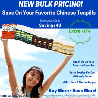 Coupon for Teapills and New Bulk Buy Savings!
