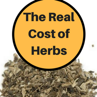 The Real Cost of Herbs