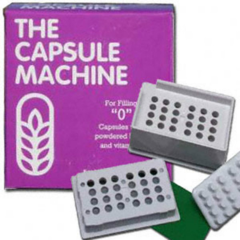The Capsule Machine.  Easy to use.  Make your own money saving capsules.