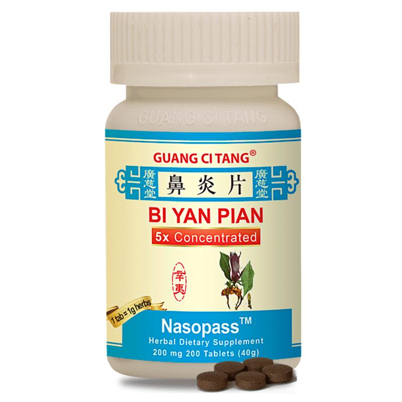 Nasopass (Bi Yan Pian) - 200 mg 200 Tablets - Active Herb Brand