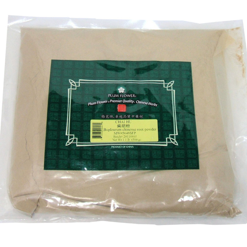 Bupleurum Root (Chai Hu) Plum Flower Powder Form 1 lb