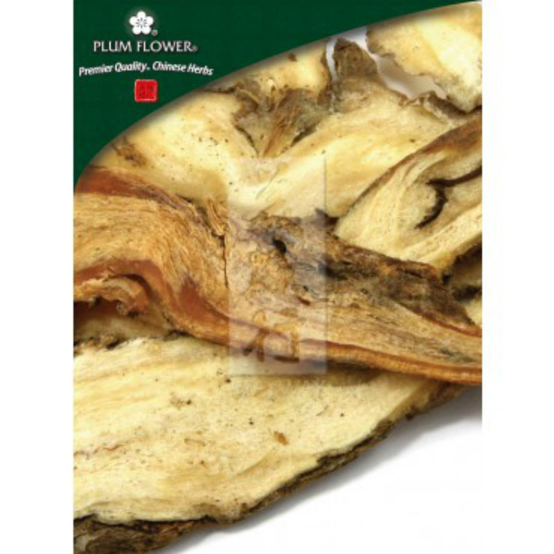 Angelica Root Processed (Dang Gui Pian) - Cut and Sifted 1 lb. - Plum Flower Brand