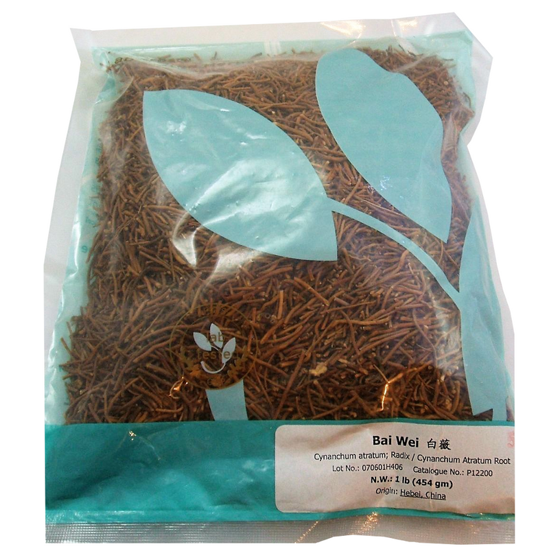 Cynanchum Atratum Root (Bai Wei) - Lab Tested Cut Form 1 lb - Nuherbs