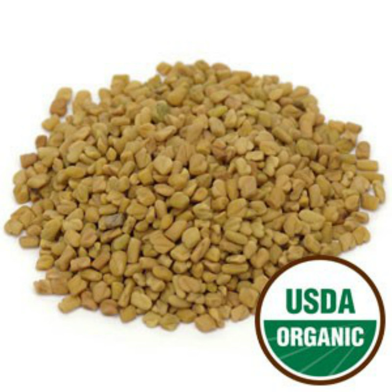 Fenugreek Seed - Organic Whole Form 1 lb. - Starwest Botanicals Brand