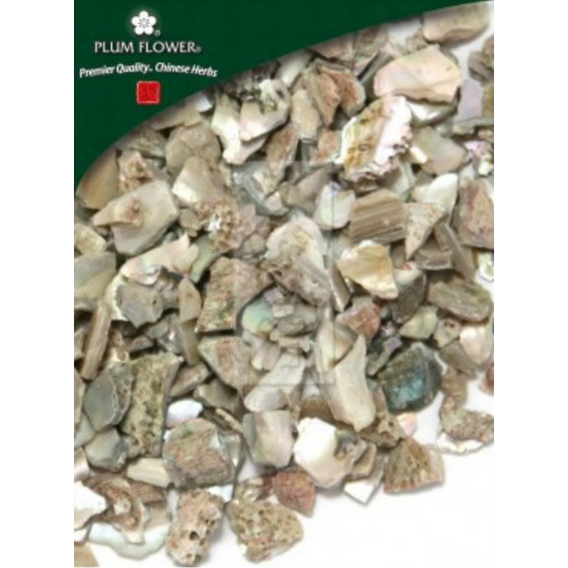Abalone Shell (Shi Jue Ming) - Cut Form 1 lb. - Plum Flower Brand