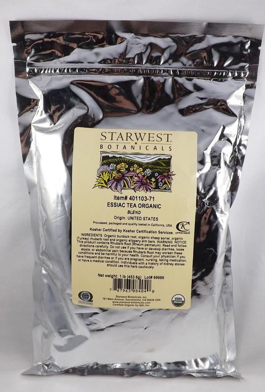 Essiac Tea - Certified Organic 1 pound blend