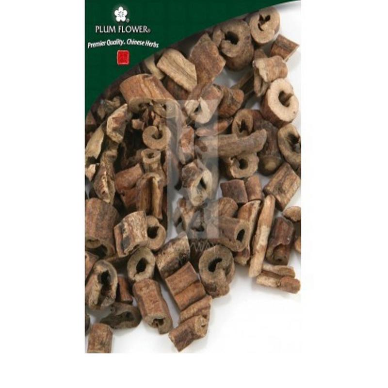 Moutan Root Bark / Tree Peony Bark, Mu Dan Pi, Plum Flower brand, Cut form 1lb