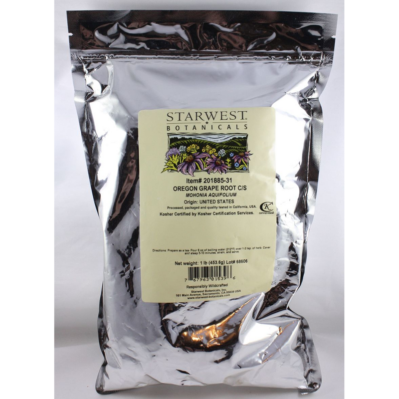 Oregon Grape Root - Wildcrafted, Mohonia Aquifolium