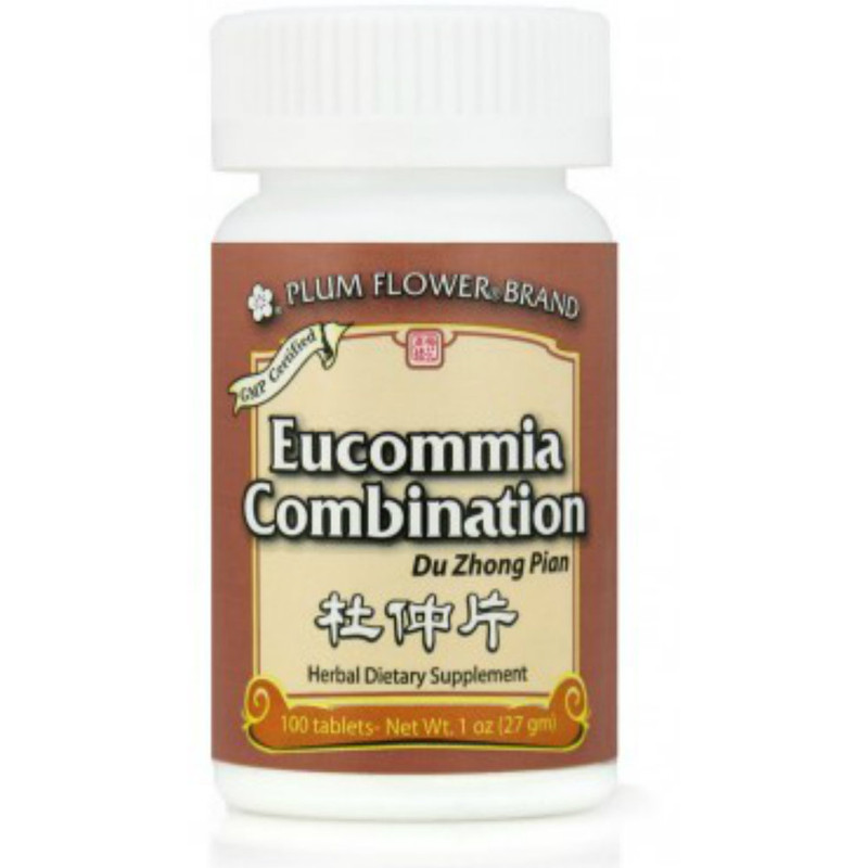 Eucommia Combination (Du Zhong Pian) Plum Flower  100 tabs