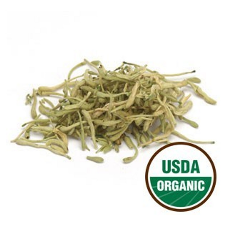 Honeysuckle Flower (Jin Yin Hua) - Certified Organic 1 lb
