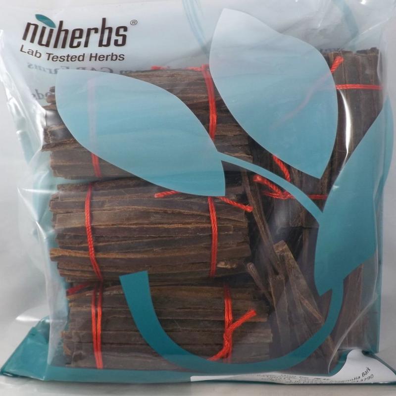 Magnolia Bark (Hou Po) Nuherbs lab tested cut form 1 lb