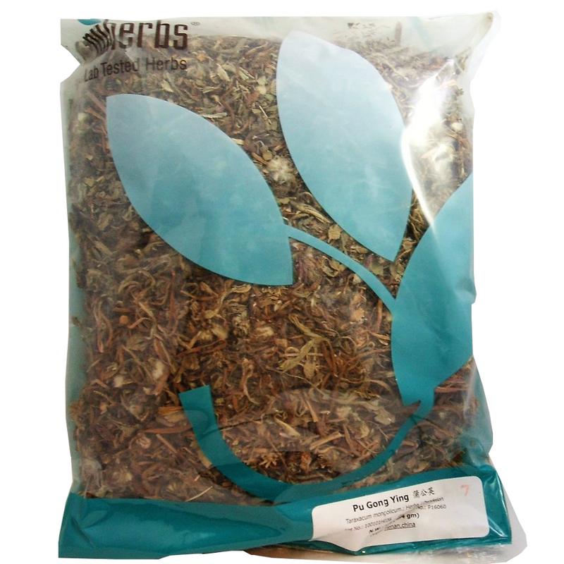 Dandelion Herb (Pu Gong Yin) - Lab Tested Cut Form 1 lb - Nuherbs Brand
