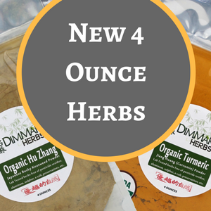 Four Ounce Herbs are in Stock!