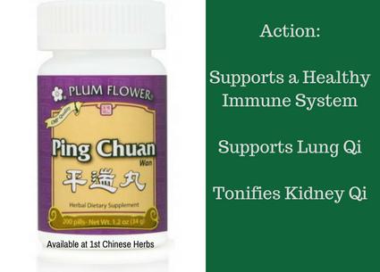 Benefits of Ping Chuan Wan