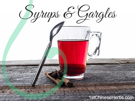 Syrups & Gargles by 1stChineseHerbs